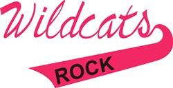 Wildcats Rock print art