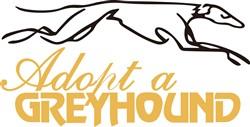 Adopt a Greyhound print art