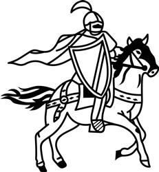 Lancers Mascot print art