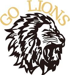 Go Lions print art