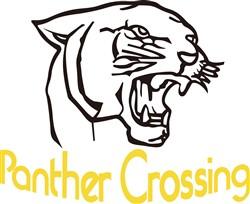 Panther Crossing print art