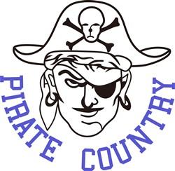 Pirate Country print art