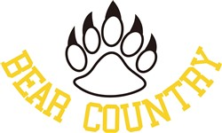 Bear Country print art