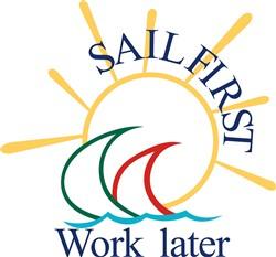 Sail First print art