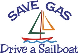 Save Gas print art