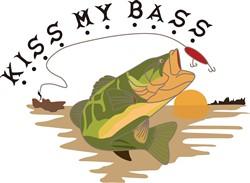 Kiss My Bass print art