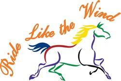 Ride Like the Wind print art