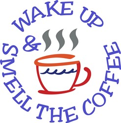 Wake Up Coffee print art