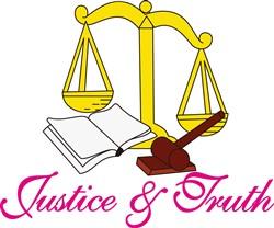 Justice & Truth print art