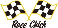 Race Chick print art