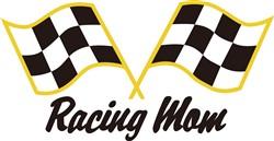 Racing Mom print art