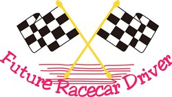Future Race Car Driver print art