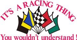 Its a Racing Thing print art