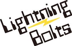 Lightning Bolts print art