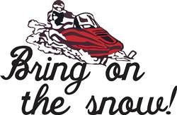 Bring on the Snow print art