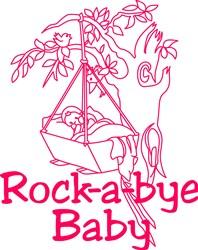 Rockabye Baby print art