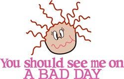 A Bad Day print art