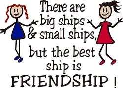 Friendship print art