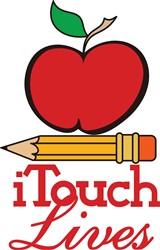 I Touch Lives print art