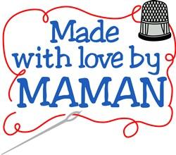 Made By Maman print art