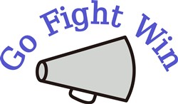 Go, Fight, Win print art