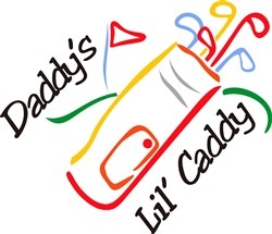 Daddys Lil Caddy print art