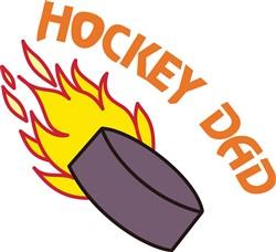 Hockey Dad print art