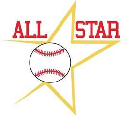 All Star Ball print art