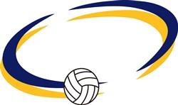 Volleyball Name Drop print art