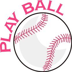 Play Ball print art