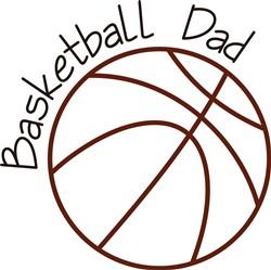 Basketball Dad print art