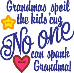 Grandmas Spoil print art