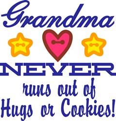 Grandma Hugs print art