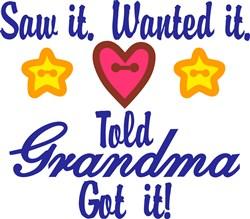 Grandma Got It print art