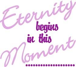 Eternity Begins print art