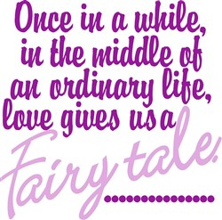A Fairy Tale print art