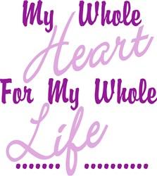 My Whole Heart print art