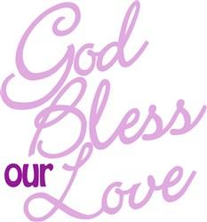 Bless Our Love print art