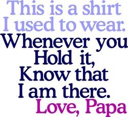 My Shirt Papa print art