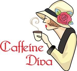 CAFFEINE DIVA print art