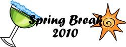 SPRING BREAK 2010 print art