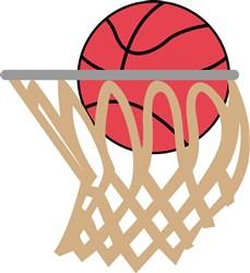 Basketall Swoosh print art
