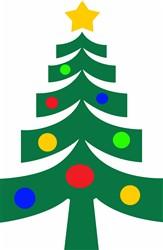 SMALL CHRISTMAS TREE print art