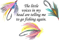 VOICES IN MY HEAD print art