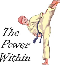 THE POWER WITHIN print art