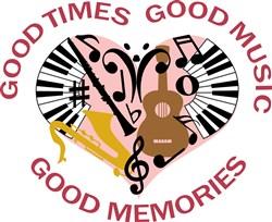 Good Times Good Memories print art