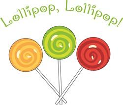 Lollipop Lollipop print art