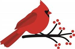 Red Cardinal print art
