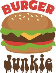 Burger Junkie print art