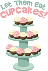 Eat Cupcakes print art